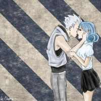 Leon and Juvia by Erriem-sama