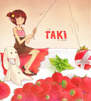 Strawberry for Taki by Kinicko
