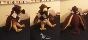 Ace Attorney - Plushies - Taka by CatTheCapricorn