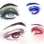 Eyes Reference: Makeup by Loves-Chihuahuas