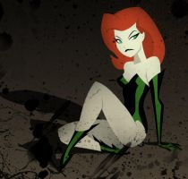Bruce Timm Tribute to Poison Ivy by UltimateOshima