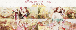 Happy 6th Anniversary Of SNSD by halenaswiftie