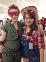 Raphael and Applejack AAC 2014 by wolfgirl23427890