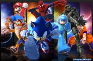 Band of Heroes by MP-SONIC