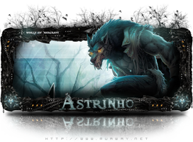 Sign Astrinho by Dinast