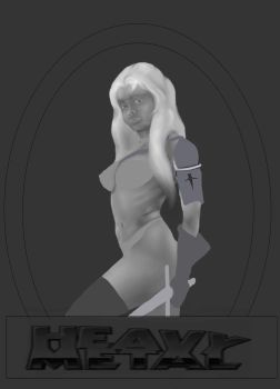Taarna The Defender- WIP by Chief-Thunder