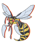 ...pogheys...Beedrill by Rainbow-Cemetery
