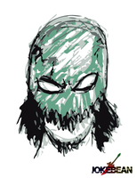 Mask Of Deletion - Green by JOKEBEAN