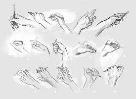 Hands 1-15 by madwurmz
