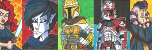 EU Prizes - Sketch Cards 04 by JoeHoganArt