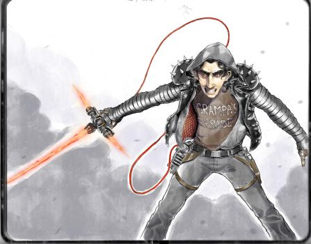 KYLO REN: Rock-a-Billy by Dogsfather