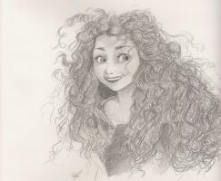 Merida, the Brave by samg743