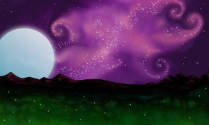 Purple Paradise-Wolfhome Room- by Allaeysis
