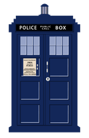 Vector TARDIS by brienicole