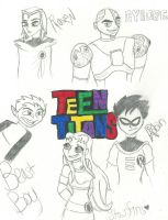 Titans Sketches by epicpenguin145