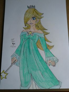 Princess Rosaline (from super Mario) by Laineyfantasy