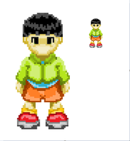 Boy in Pixel by Agil-Pradhita