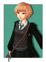 Hogwarts OC by blingyeol