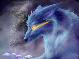Ice Wolf by Airokat