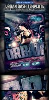 Urban Bash PSD Flyer Template Preview Image by yAniv-k