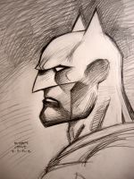 Batman (Profile) by myconius