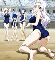 Mirajane and girls (1) by decimo27
