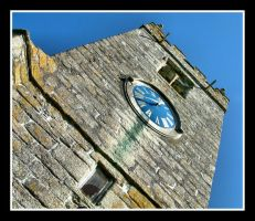 Church Clock by Pjharps