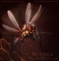 Beedrill, the Pokemonstrosity by razwit
