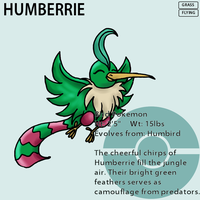 Fakemon_Humberrie by EmeraldSora