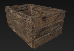 Fruit/Vegetable Crate by KhorelisSylvari