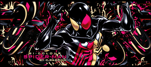 Bi-Colour Spider-Man Signature by Rabling-Arts