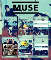 Muse cell phone theme. by The-Shadowsea