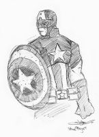 Captain America by The-SuicideKing