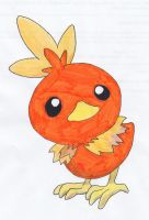 torchic by apaskins1991