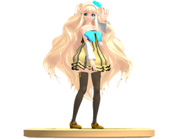 MMD Trophy: Colorful x Melody SeeU by Rea-Usax