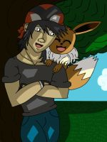 Hersey and Eevee by lawliet29