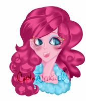 Pinkie Pie Bust by CaptainKaddy