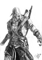 Connor Kenway by parask2092