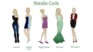 Natalie Clothing Styles by frenchly