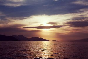 ilha grande sunset by dth75