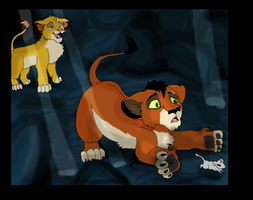 Mufasa and Taka by timmy-gost