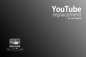 Youtube Icon Replacement by iamjustin44