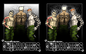 'the HEADHUNTERS' cover by MBGraphiX-de