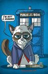 Grumpy Cat Doctor by ShadowMaginis