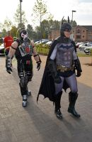 Stoke-Con-Trent 2014 (9) Batman and Bane by masimage