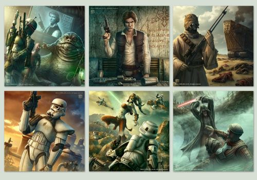 SWG Card art by kerembeyit