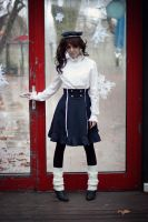 High Waist Sailor Skirt by Federkiel