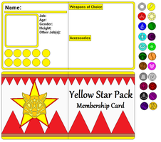 Goldstar's Pack: Membership Card Meme by DarthGoldstar710