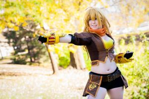 Yang ~RWBY~ by Arctic-RevoIution