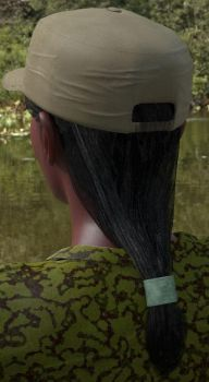 Antonia Hat with hair from back by AnWivu